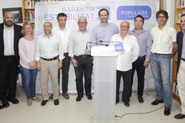 Joan Toni Ripoll y Toni Solivellas, candidatos del PP en Mancor y Escorca