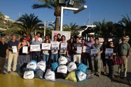 El olor de basura que llega del puerto de Alcúdia se 'disfraza' con agua de fresas