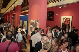 La exposición de Miró en la estación del tren Sóller en Palma abre sus puertas