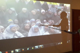 Las niñas nigerianas serán  liberadas este lunes