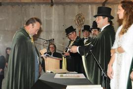 Miquel Barceló, cofrade de honor de la Cofradía del Cava