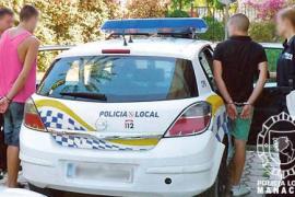 Detenidos dos jóvenes cuando robaban en una casa de Manacor