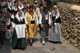 Deià celebra su patrón Sant Joan