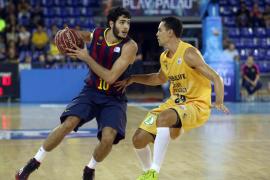 El Barcelona sigue líder y Andorra da la sorpresa al ganar al Laboral Kutxa