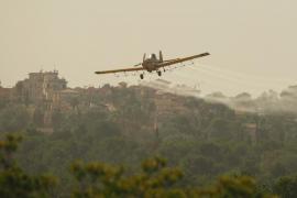 El GOB pide a Madrid que revoque el permiso para la fumigación aérea