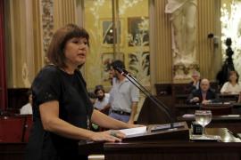 La portavoz del PSIB, Francina Armengol,