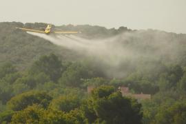 Crecen las quejas por las fumigaciones aéreas del Govern