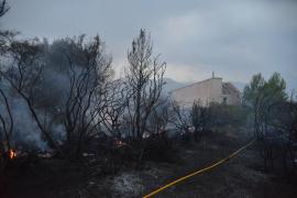 Incendio en Galilea
