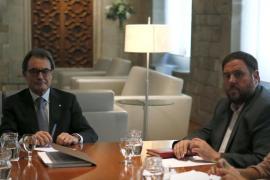 Mas y Junqueras se reúnen para acercar posturas sobre el proceso soberanista