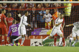 El Real Madrid se exhibe ante el Liverpool