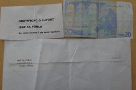 IxSP denuncia el envío de sobres con gratificaciones en su nombre a domicilios de sa Pobla