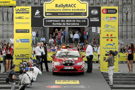 SEAT, vehículo oficial del 50 RallyRACC Catalunya - Costa Daurada