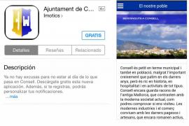 La vida cotidiana de Consell, reflejada en una App municipal