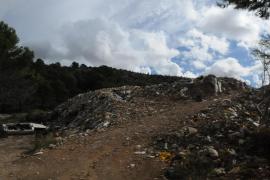El Govern destina 662.755 euros al cierre del vertedero del torrente de s'Estret
