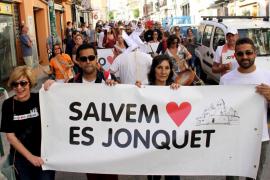 Protesta en es Jonquet ante la «falta de consenso social» sobre el PEP