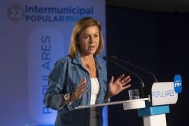 Cospedal: «el PP trabaja para que los casos de corrupción no se repitan nunca más»