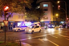 Herido grave un motorista en un accidente en Palma