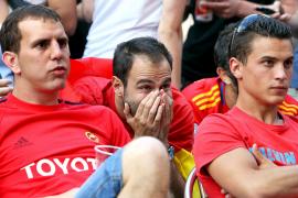 Decepción y esperanza, denominador común tras la derrota de España ante Suiza