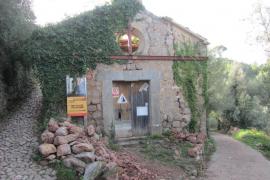 El oratorio de Castelló en Sóller, en peligro de derrumbe