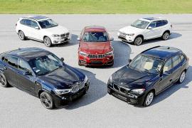 BMW celebra el 15 aniversario de la  reconocida gama X