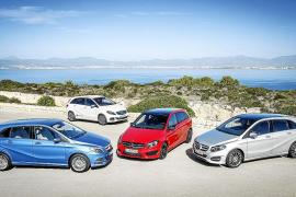Mercedes Benz presenta a la prensa mundial en Mallorca la nueva Clase B