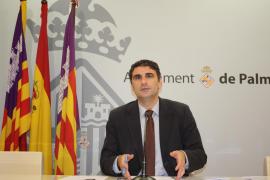 Julio Martínez defiende la instalación de pantallas digitales en las calles de Palma