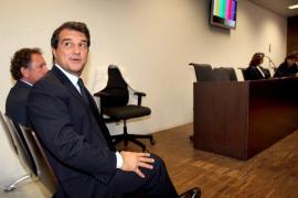 Desestimada la demanda del Barça contra la junta directiva de Joan Laporta