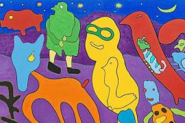 Gustavo muestra sus «personajes grotescos» en Can Prunera