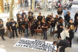 «El alcalde de Bunyola se piensa su futuro político, mi hijo no tiene futuro» grita la madre de Grimaldos