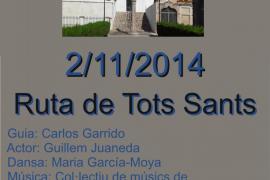 Ruta de Tots Sants por el cementerio de Calvià