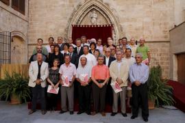Homenaje a los 53 'Grandes Donantes' de sangre de Balears del año 2009