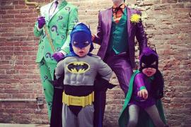Los disfraces de los famosos en Halloween