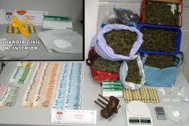 Un detenido en el desmantelamiento de dos puntos de droga en sa Pobla