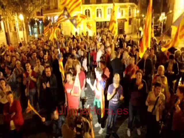 Más de 200 personas apoyan en Palma la consulta del 9N