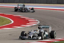 Hamilton, más líder al ganar por delante de Rosberg en Austin, donde Alonso fue sexto