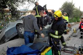 Rescate inestable en Palma