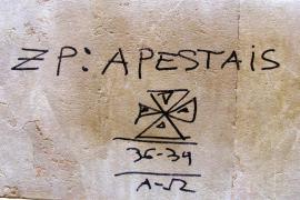 El PSIB condena la pintada «fascista» aparecida en la fachada de su sede de Palma