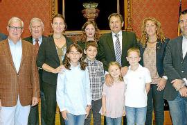 Los galardonados con el Premi Gota d'Oli de Mallorca