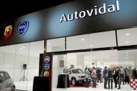 El grupo Fiat al completo,  en Auto Vidal Balear
