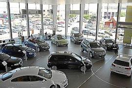 La venta de coches nuevos se recupera en Balears