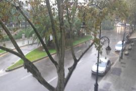 Alerta amarilla por lluvias y vientos de 80 kilómetros por hora