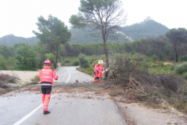 Tormenta en Mallorca