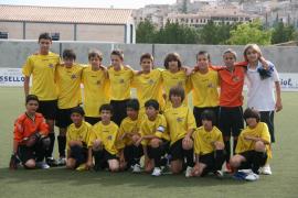 Los alevines del Juventud Sallista de Inca, a por la Copa Dan Up