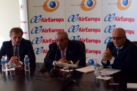 Air Europa factura 1.800 millones de euros en el presente ejercicio