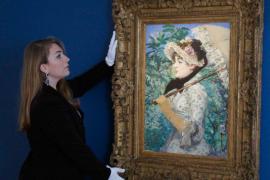 """""""La primavera"""", récord en subasta para Manet"""
