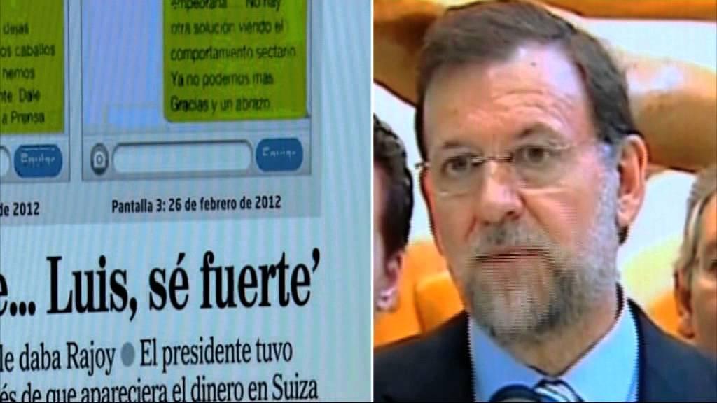 Jóvenes socialistas recopilan en un vídeo las declaraciones de apoyo de Rajoy a corruptos