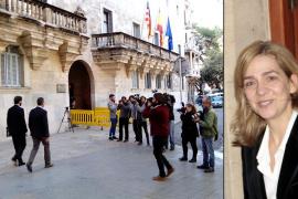 La infanta Cristina continúa imputada por delito fiscal en el caso Nóos