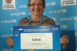 Unicef premia a  Calvià por su atención interdisciplinar a la infancia