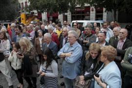 Concentración en Palma en «repudio» ante la «mutilación sectaria» de España