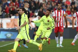 Suárez asiste y el Barça remonta